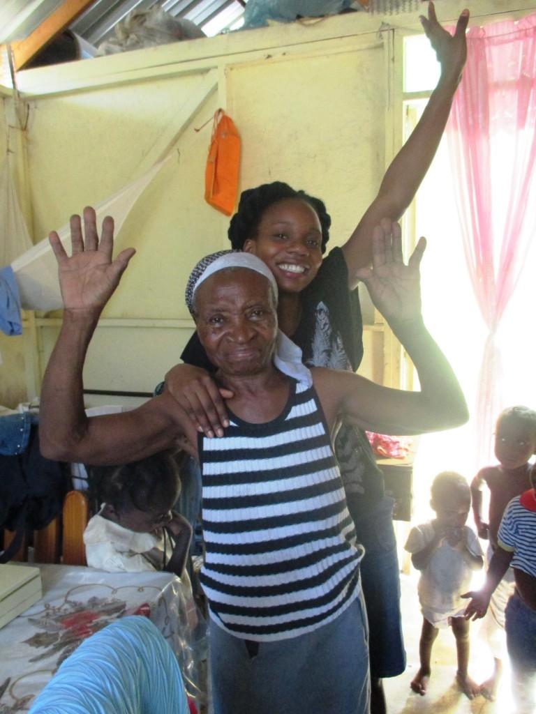 Grand-mère guérie d'un mal de reins à Clerville